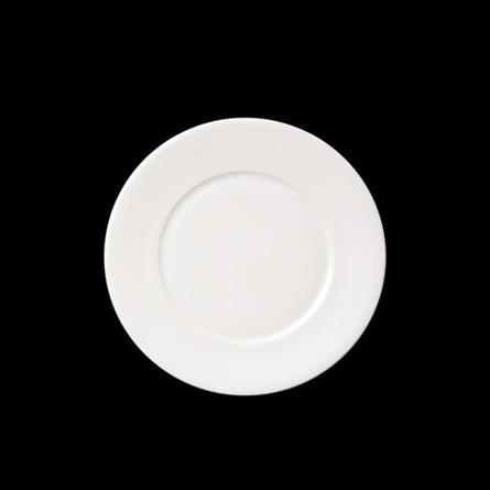 Dibbern - Fine Dining - Teller - flach - 22 cm - weiss - Fine Bone China Porzellan </P