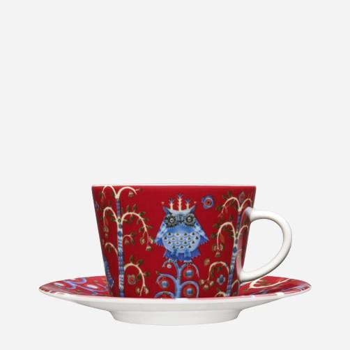 iittala - Taika - rot - Kaffeetasse - 0,2 l - Des.: Klaus Haapaniemi