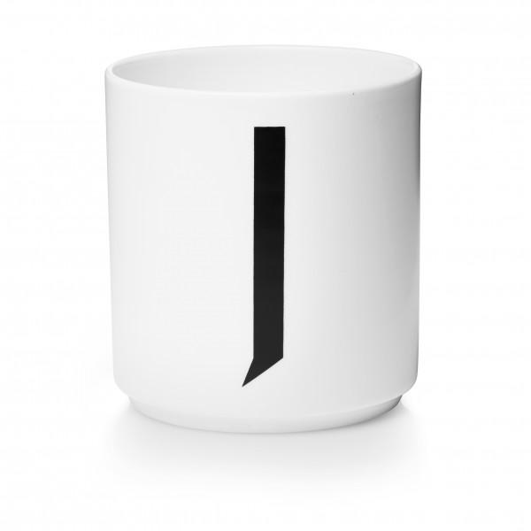 Design Letters - Arne Jacobsen - Porzellan Cup/Becher J - 9,0x8,3 cm (HxØ)