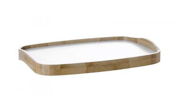 Stelton - Emma - Serviertablett - Bambus-weiß - ca.30,5x44x5,5 cm (BxLxH) - Holmbäck,Nordentof