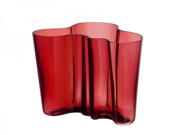 iittala - Alvar Aalto Collection - Vase - 160 mm - cranberry - Kranichbeere