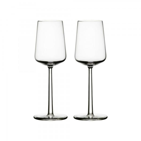 iittala - Essence - Weißweinglas - 33 cl - Klar - 2 Stück - Des.: Alfredo Häberli