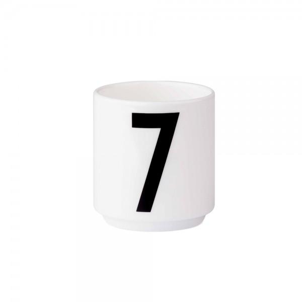 Design Letters - Arne Jacobsen - Espresso Cup/Teelicht - 7 - 6x5,5cm (HxØ)