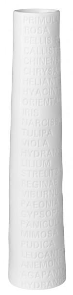 Räder - ZUHAUSE - Raumpoesie - Vase - groß - 23 x 4cm (HxD)