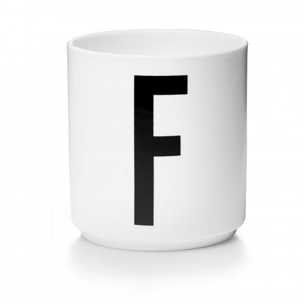 Design Letters - Arne Jacobsen - Porzellan Cup/Becher F - 9,0x8,3 cm (HxØ)