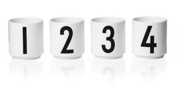 Design Letters - Arne Jacobsen - Espresso Cup/Teelicht - 2 - 6x5,5cm (HxØ)