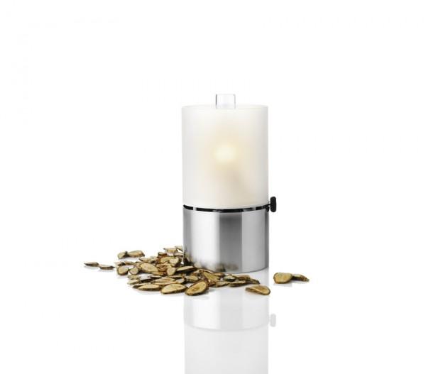 Stelton - Erik Magnussen - Öllampe mit Glasschirm, satiniert, 23,5 x 13 cm.