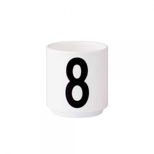 Design Letters - Arne Jacobsen - Espresso Cup/Teelicht - 8 - 6x5,5cm (HxØ)