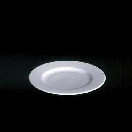 Dibbern - Classic -Teller - flach - 21 cm - Fine Bone China - Weiss