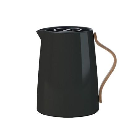 Stelton - Emma - Isolierkanne - Tee 1 L. - schwarz