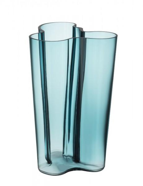 iittala - Aalto Vase - 251 mm - seeblau - Alvar Aalto 1936 - limitierte Dess.Auflage