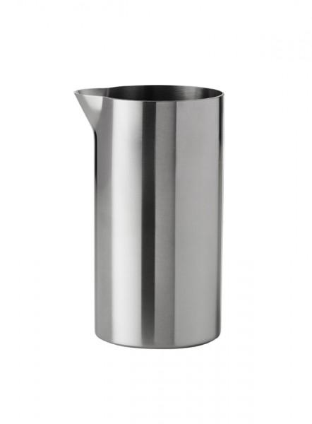Stelton - Arne Jacobsen - Cylinda-Line - Sahnekännchen 0,15 l. - Edelstahl, Emaille - Ø13 x 18 cm