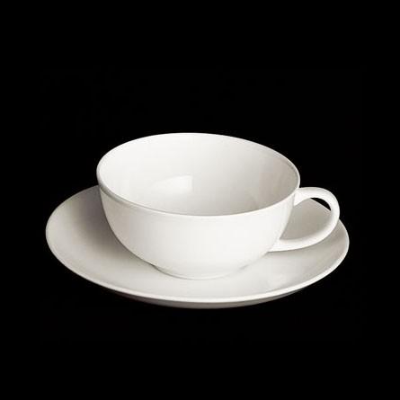 Dibbern - Classic - Tee - Obertasse 0,20 l - Fine Bone China Weiss Porzellan