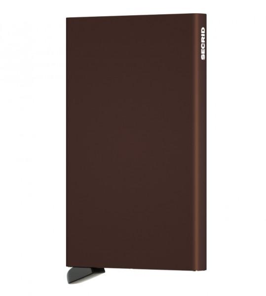 Secrid - Cardprotector - braun - Kreditkartenhalter - 63x102x8mm - 40 Gr.