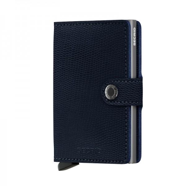Secrid - Miniwallet - rango - blue titanium - Schutz für Magnetkarten, EC-Kreditkarten - Leder, Alum