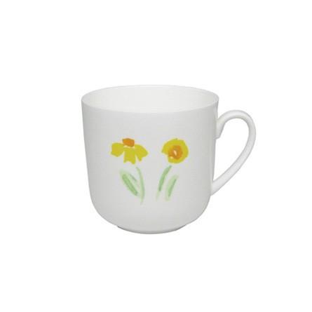 Dibbern - Classic - Becher mit Henkel - 0,32 l - Impression - Blume - gelb