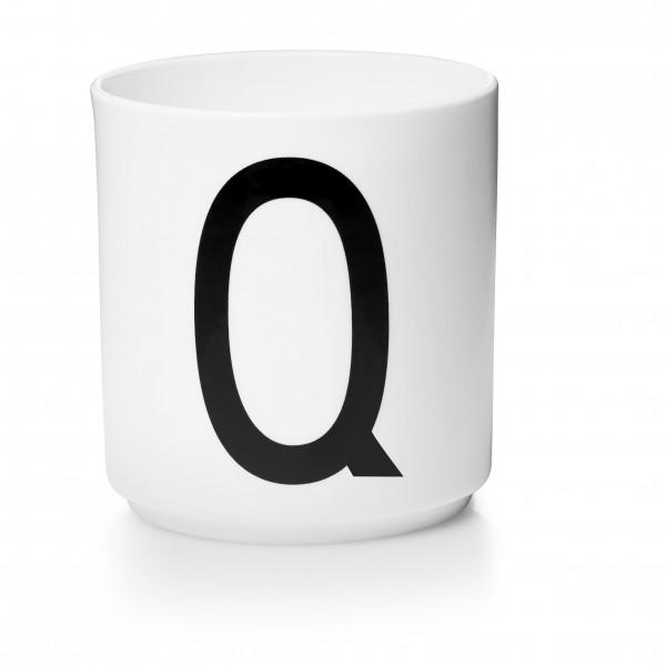 Design Letters - Arne Jacobsen - Porzellan Cup/Becher Q - 9,0x8,3 cm (HxØ)