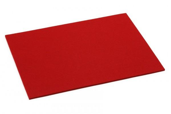 Hey - Tischset rechteckig - Rot 11 - ca 45 x 35 cm, Stärke 5 mm - Filz - 100% Schurwolle