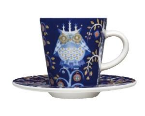 iittala - Taika - Espresso - Untertasse - 11 cm - blau
