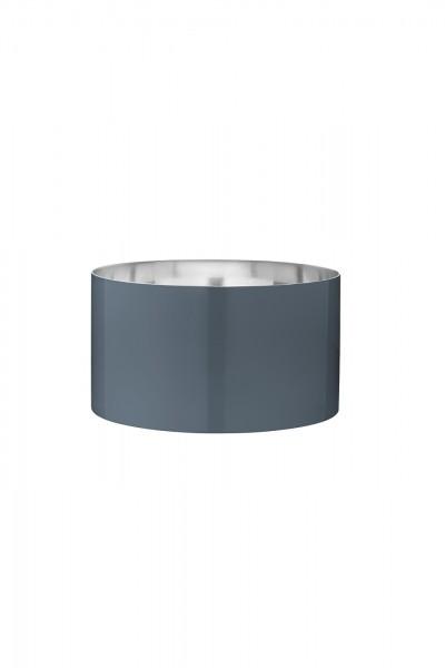 Stelton - Arne Jacobsen - Cylinda-Line - Salatschüssel 24 cm - ocean blue - Edelstahl, Emaille
