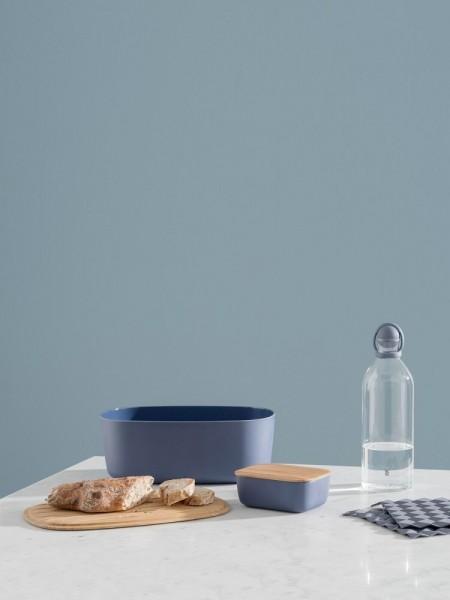 RIG-TIG by Stelton - Box-it - Brotkasten - dunkelblau - ca.34,5x22,7x12,3 cm - Des. Jehs & Laub