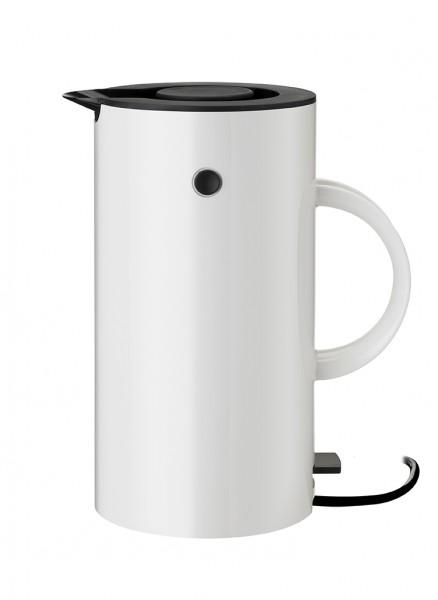 Stelton - EM77 - Wasserkocher - 1,5l - weiß - ca. 13,3x25x20,5 cm (BxHxL) - Erik Magnussen
