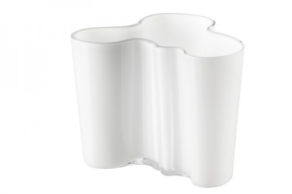 iittala - Alvar Aalto Collection - Vase - 120 mm - Opalweiß