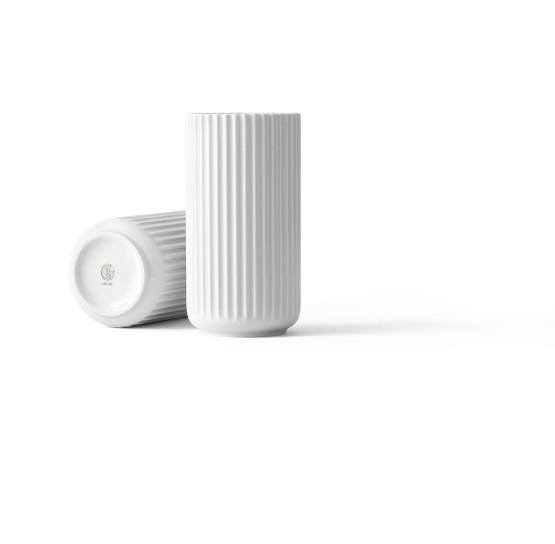 Lyngby - Vase - 20 cm - weiß - Porzellan