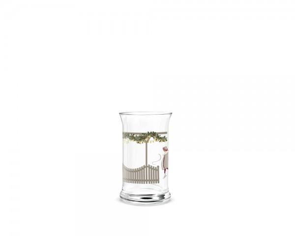 Holmegaard - Christmas Weihnachts-Wasserglas 2018 - multi - 28 cl. - ca.12,5x8 cm (HxD) - Jette Fröh