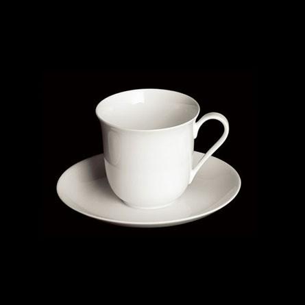 Dibbern - Classic - Vienna - Espresso - Obertasse - 0,11 l - Fine Bone China Weiss