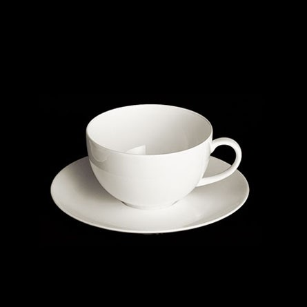 Dibbern - Classic - Kaffee Obertasse - rund - 0,20 l - Fine Bone China Weiss