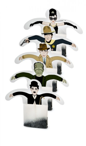 Donkey -Tea Party - Cup of Fame - Hollywood - 5 Teebeutel Schwarztee Assam