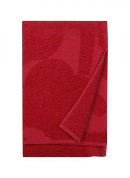Marimekko - UNIKKO - Badetuch - 75x150 cm - rot - Bw-Frottee