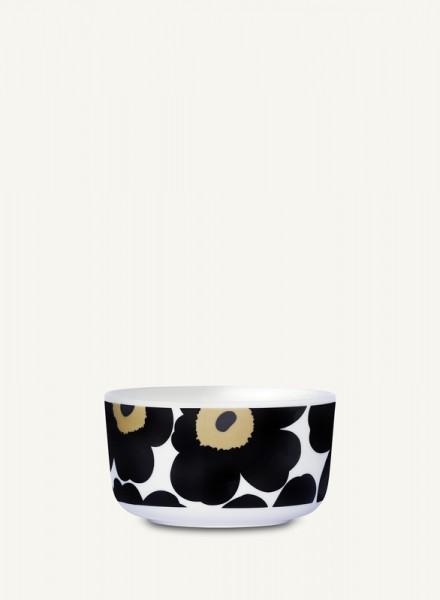 Marimekko - UNIKKO- Schale - 0,5 l - weiß-schwarz