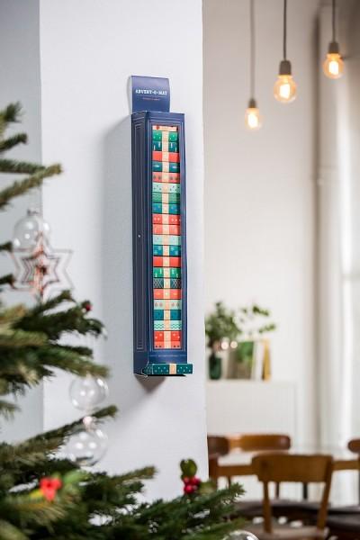 Donkey - Advent-O-Mat - 1 Spender - 24 Geschenkboxen - ca. 71x10,4x7,5 cm (LxBxH) - Papier - Spender