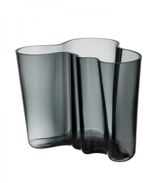 iittala - Alvar Aalto Collection - Vase - 160 mm - dunkelgrau