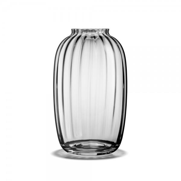 Holmegaard - Primula - Vase - klar - ca. 25,5x15,5 cm (HxD) - mundgeblasenes Glas - Jacob E. Bang