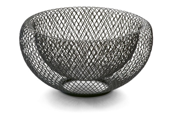 Philippi - Mesh Schale + Brotkorb L - 25 cm (D) - Des.: Flip - Stahl pulverbeschichtet