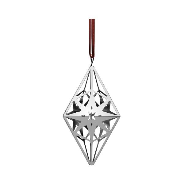 Rosendahl - Karen Blixen - Rhombushänger, Diamanthänger - vergoldet - ca. 5x5,8x11,3 cm (TxBxH)