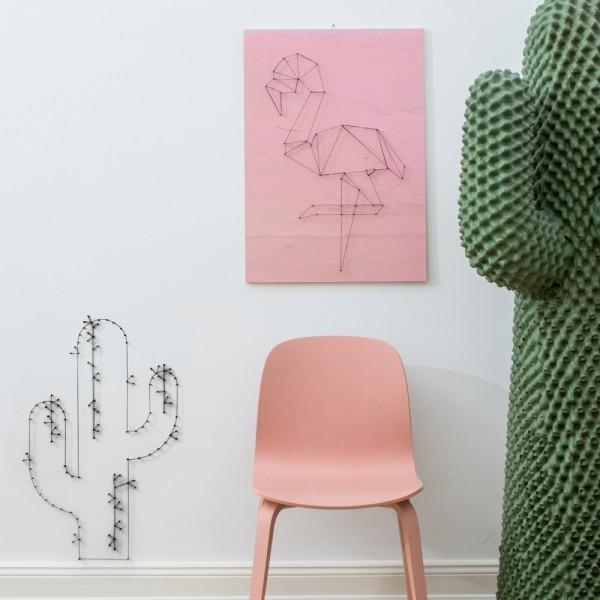 Donkey - Nagel & Faden Set - Wonderland - Ananas, Flamingo, Kaktus