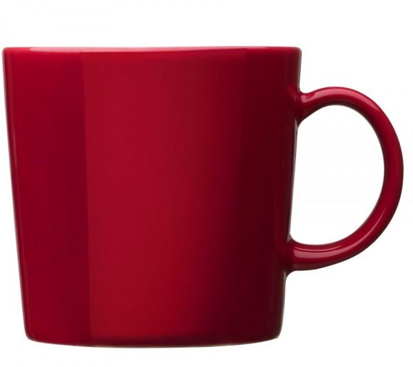 iittala - Teema - Becher - mit Henkel - 0,3L - rot - Des.: Kaj Franck