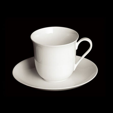 Dibbern - Classic - Vienna - Bechertasse 0,25 l - Fine Bone China Weiss