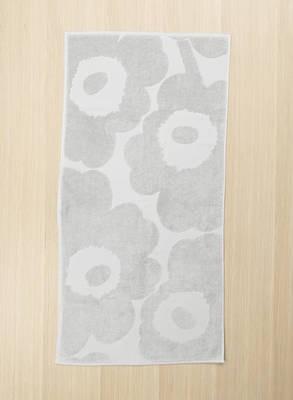 Marimekko - UNIKKO - Handtuch - 50x100 cm - grau