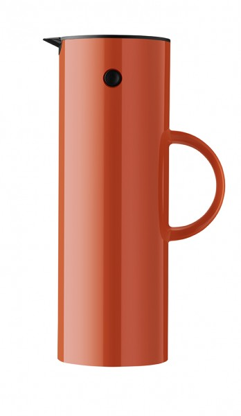 Stelton - EM77 - Eric Magnussen - Isolierkanne - 1 l. - hagebutte - ca. 17x30x10,5 cm (BxHxD)