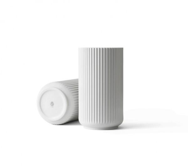 Lyngby - Vase - 31cm - weiß - Porzellan
