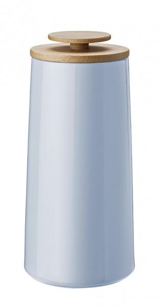Stelton - Emma - Kaffeedose, Aufbewahrungsdose - 500g. - blau - ca. 10,8x23,1x10,8cm (BxHxL) - Holmb