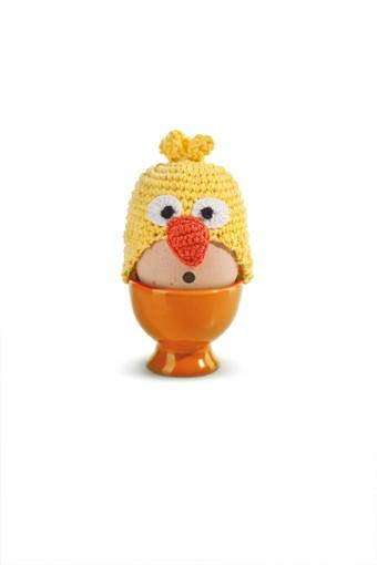 Donkey - Funky Eggs - Happy Bird - Eierwärmer - ca. 5x6 cm - 100% Bw.