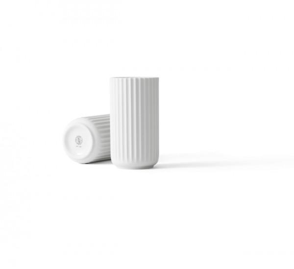 Lyngby - Vase - 15cm - weiß - ca.15x8x8 cm - Porzellan