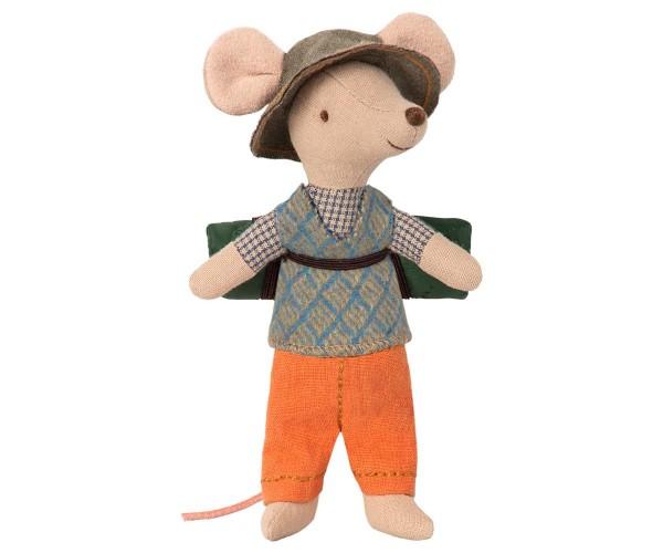 Maileg - Wander-Maus - großer Bruder - ca.12cm - Baumwolle